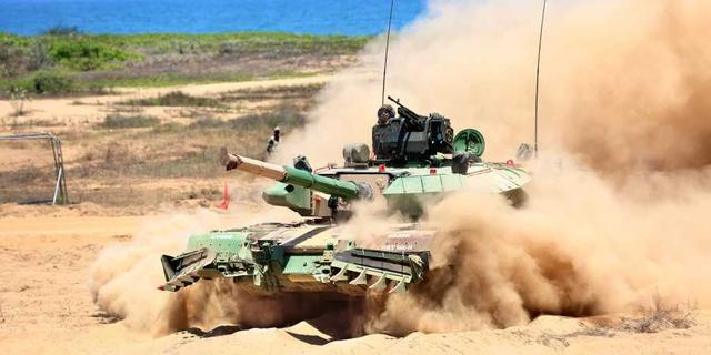 """经历""""72变""""后,印度国产阿琼MK1A坦克完成测试即将服役"""