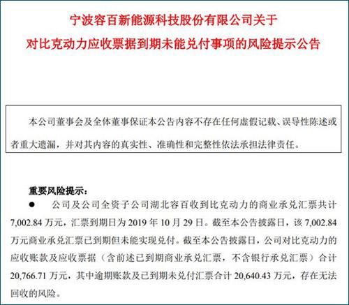 """双赢彩票系统平台_上市公司连环债:众泰""""感冒"""",科创板新贵躺枪"""