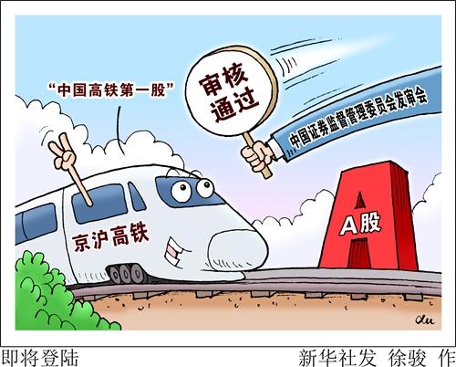"""快三复式玩法_中国高铁第一股即将亮相 """"京沪高铁""""意义有多深?"""