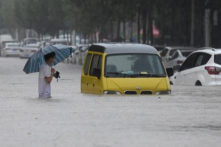 河南暴雨,企业在行动