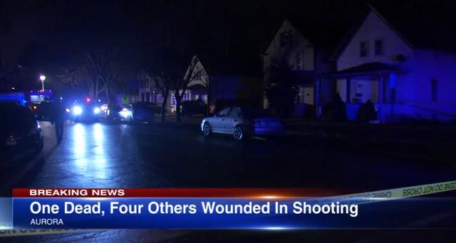 枪声又响!美国奥罗拉市凌晨突发枪击案 1死4伤