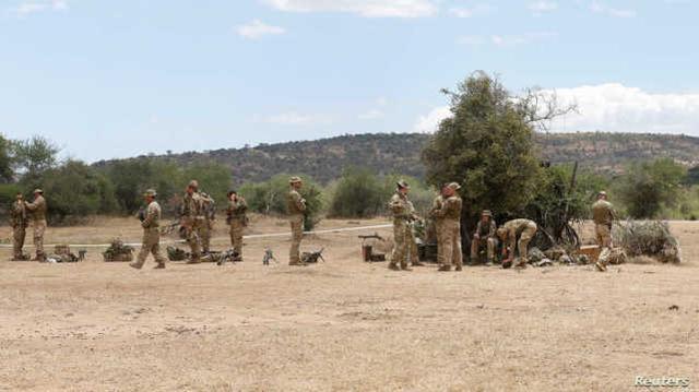 美军基地遇袭同日,肯尼亚3名恐怖嫌犯试图闯英国军营被捕