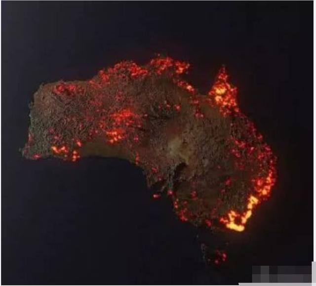 """澳大利亚山火肆虐4个月,一波""""网红""""照片被指不实"""