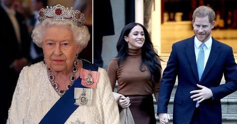 """英国女王发声明:支持哈里和梅根""""开始新生活"""""""