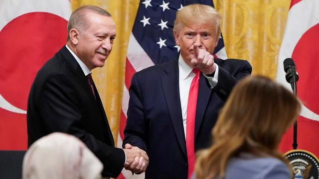 特朗普:我喜欢土耳其,我和他们总统相处得很好