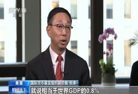 IMF副总裁:贸易争端是致经济放缓决定性因素之一
