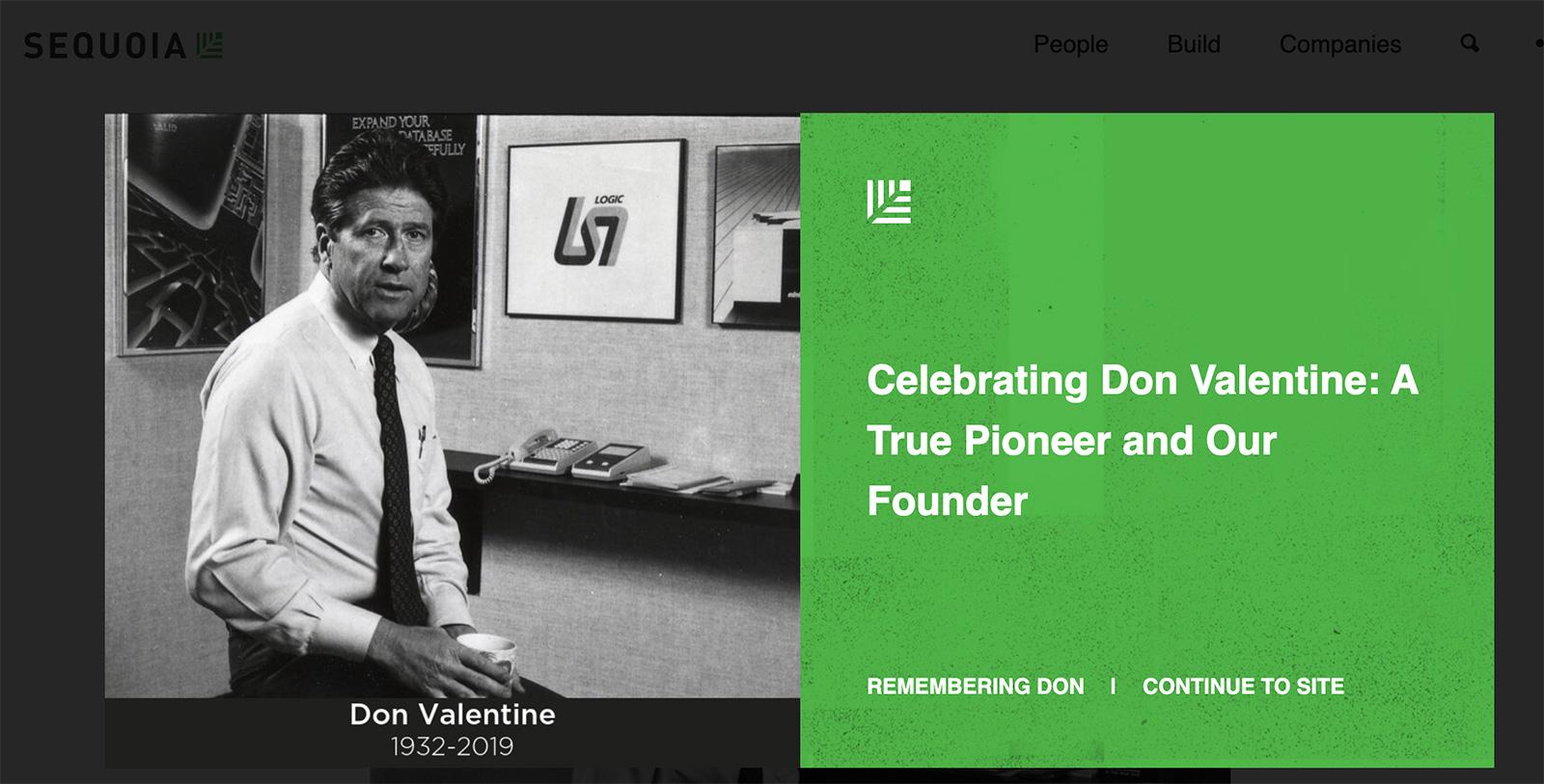 硅谷传奇红杉创始人逝世:40年前投苹果30年前投思科