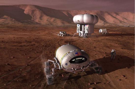 去火星有哪些危险?深空辐射、微重力、幽闭空间……