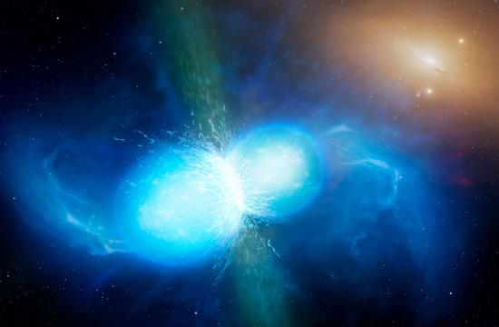 中子星并合不仅产生了引力波 还诞生了重元素锶