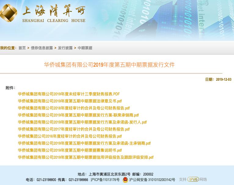 """华侨城近2000亿债务压顶 频""""卖子""""后急发债15亿""""补血"""""""