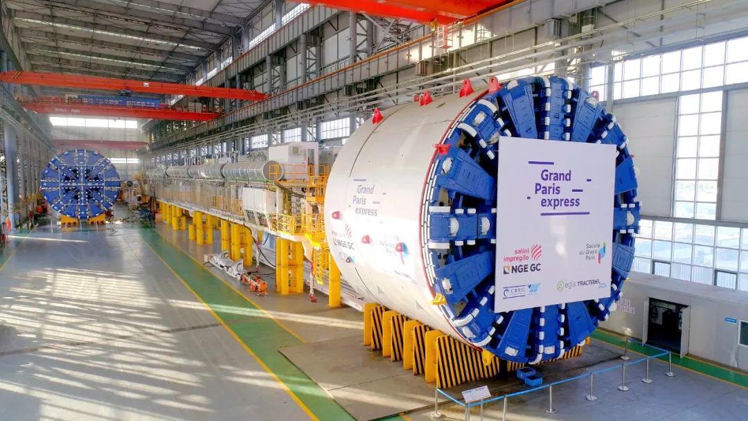中国盾构机首次反向出口至法国 进入全球顶级高端市场