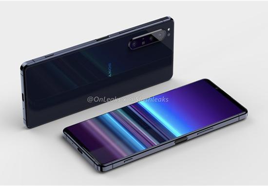 索尼新一代Xperia手机渲染图曝光:上边框很窄