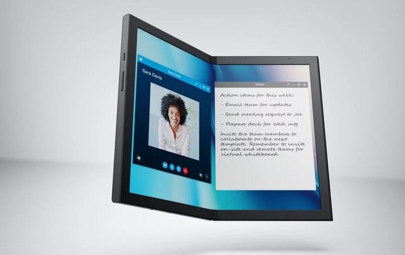 CES 2020:笔记本厂商对折叠屏按捺不住了