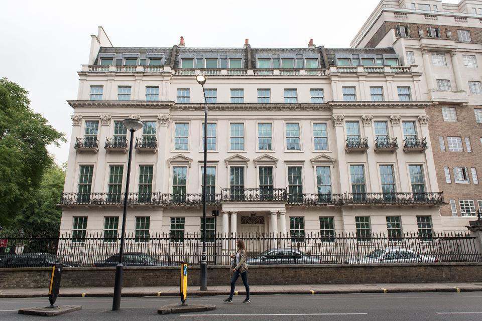 中国富豪18亿元买伦敦别墅 刷新英国房地产交易记录