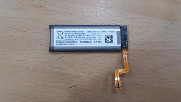 三星Galaxy Z Flip折叠屏手机电池容量曝光