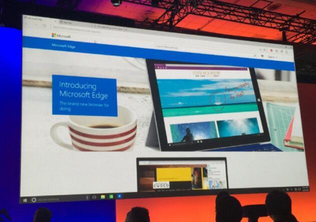 微软基于谷歌Chromium开源的Edge浏览器正式发布