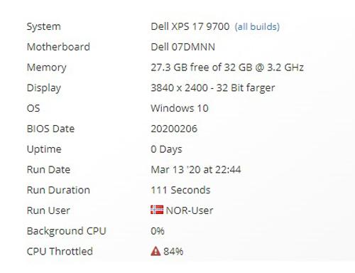 戴尔新款XPS 15和XPS 17曝光:搭载i7-10750H 内存32G