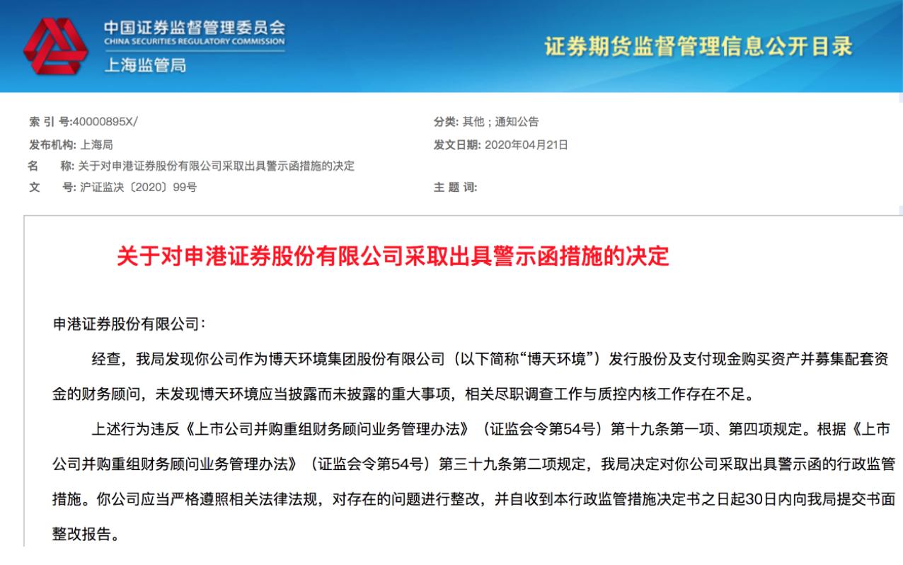 申港证券被处罚,近两月超20家券商收超30份罚单