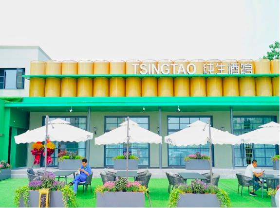 """新鲜纯生乐享鲜活人生,TSINGTAO纯生酒吧率""""鲜""""而来!"""