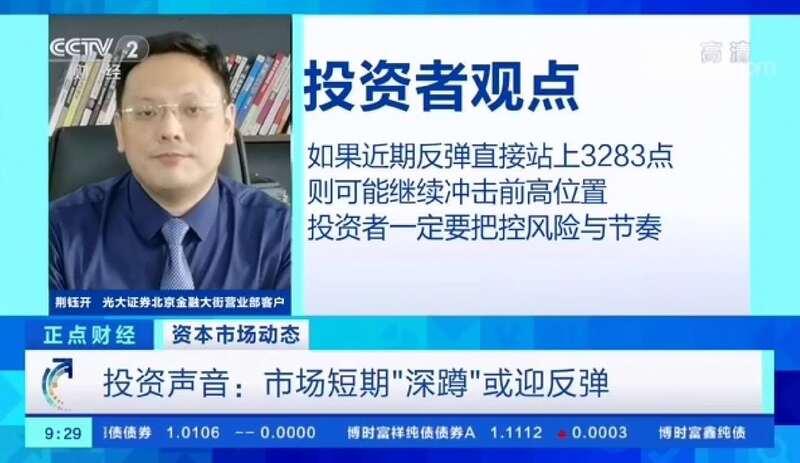 投资简报 | 荆钰开:A股走势获得强势验证 后续策略三点浅析