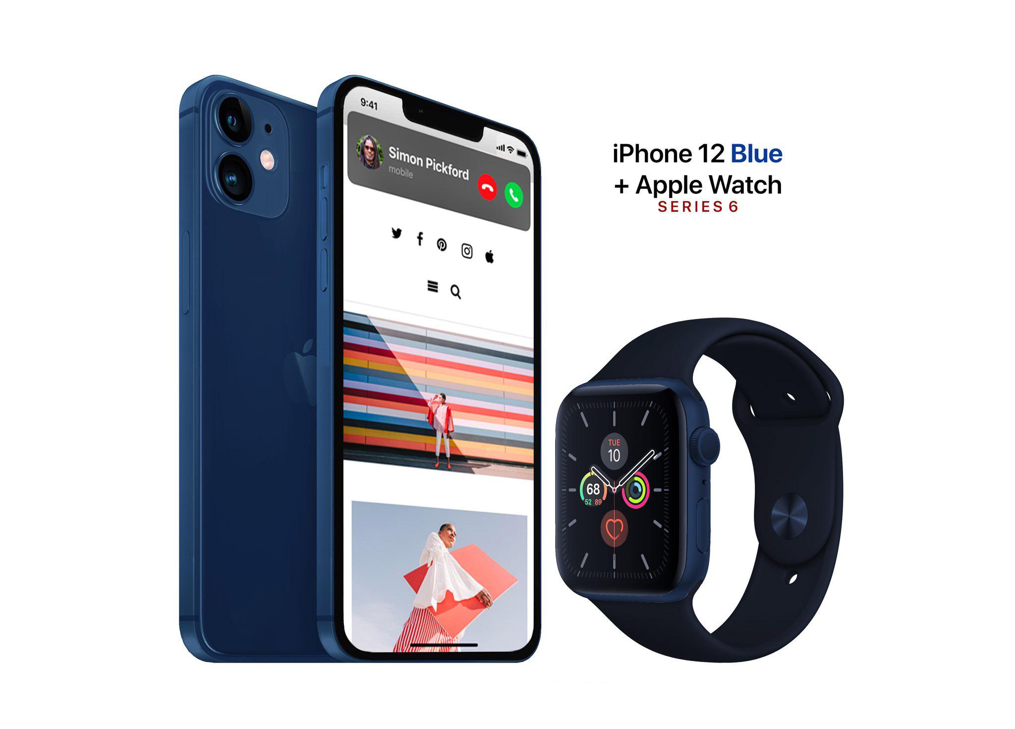 这也许就是iPhone 12的海军蓝版本 静待苹果官宣