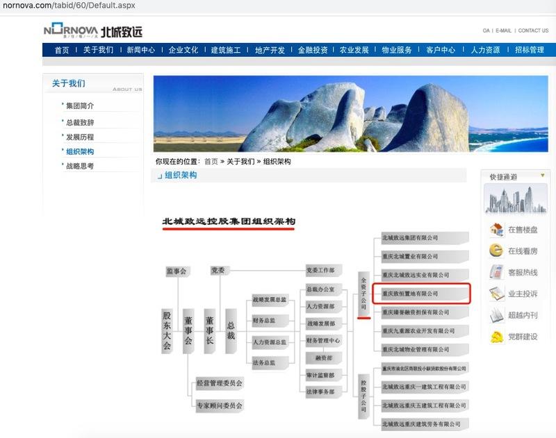北城致远旗下重庆致恒置地涉违规建设被罚22.95万元