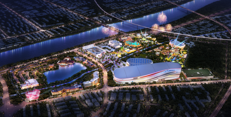 世界级的蜀文化主题乐园即将亮相 融创文旅城又有新玩法