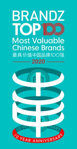 2020年BrandZ最具价值中国品牌百强发布,茅台第三五粮液价值翻倍