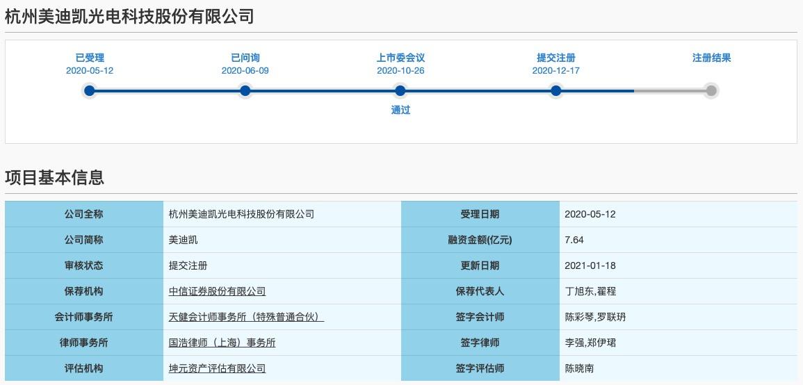 美迪凯科创板IPO获批注册:营收依赖苹果 劳务派遣员工曾占比超四成