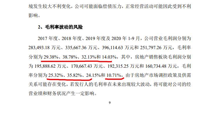 珠江投资利率7.50%发公司债 其房地产毛利率腰斩后仅10.71%