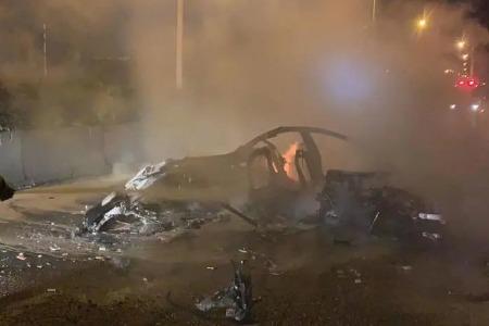 广州警方通报一起致死交通事故,媒体:为特斯拉旗下车型
