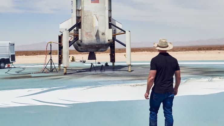 想和世界首富贝索斯一起上太空吗?最少得掏1800万