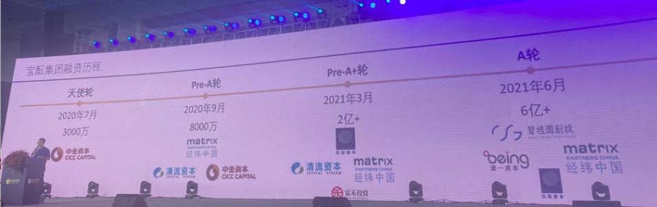 宝酝A轮融资6亿+  碧桂园创投领投,源一资本、经纬中国、日初资本跟投