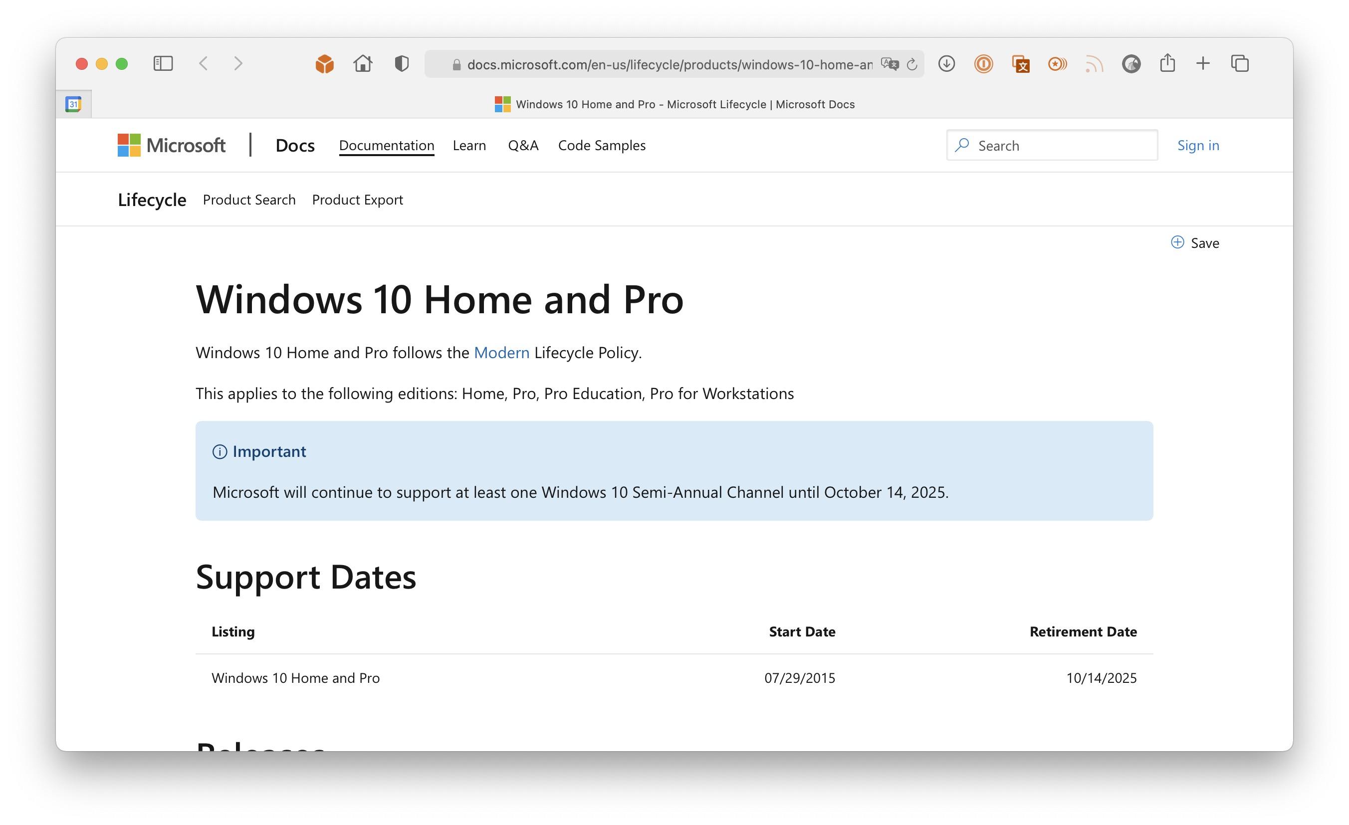 Windows 10预计2025年10月结束支持