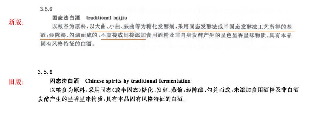 酒业两大国标发布:三种白酒制造法不得使用添加剂,固液法白酒取消30%限定