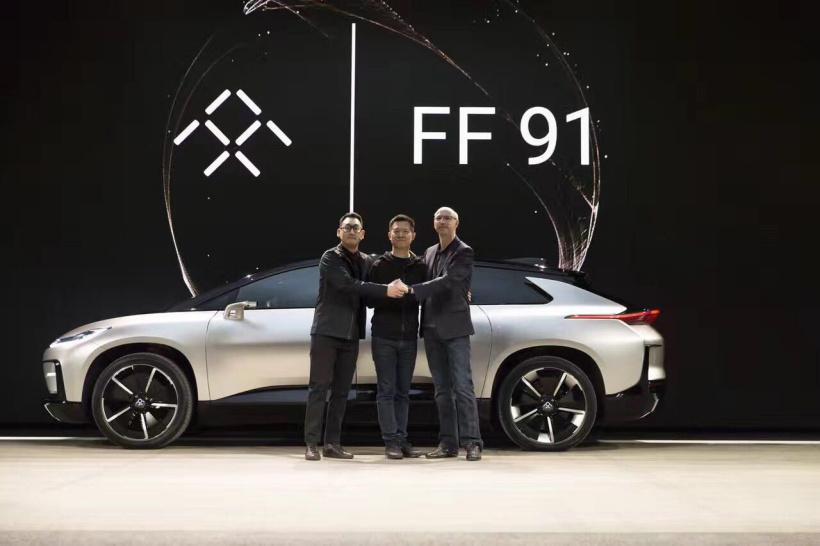 贾跃亭PTT或成真?FF 91的量产版车型将发布