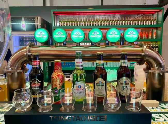 青啤原浆24小时直达 澳门•青岛双城啤酒文化节盛大启幕