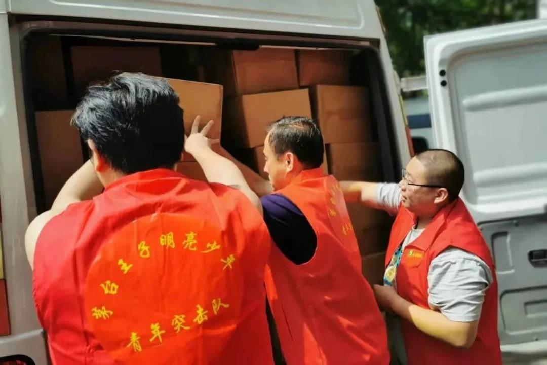 茅台酱香酒公司联合经销商向河南灾区捐款捐物1584余万元