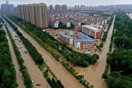 主动对接企业 银行保险机构全力驰援河南灾区
