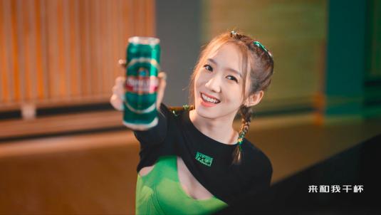 青岛啤酒:为每次的全力以赴,干杯!