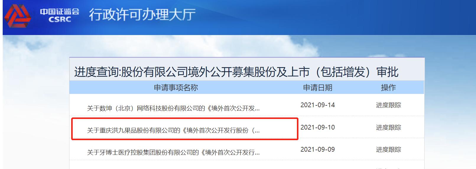 阿里等机构持股的洪九果品拟香港IPO 老板靠一根扁担白手起家
