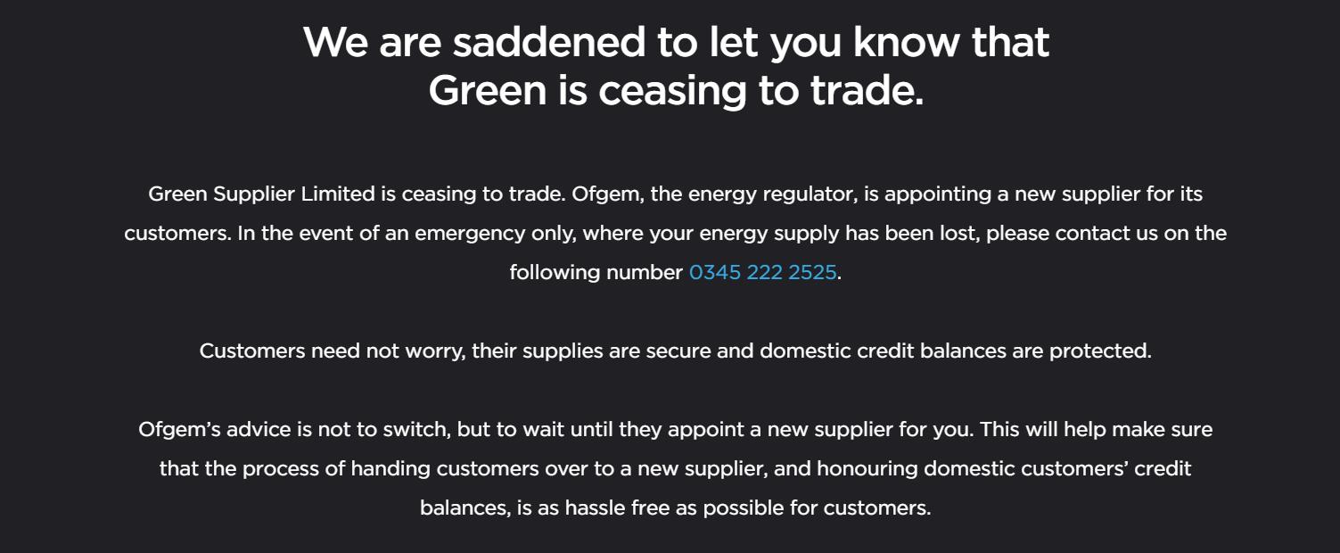 英国天然气危机迫使更多能源供应商退出市场 上百万家庭受影响