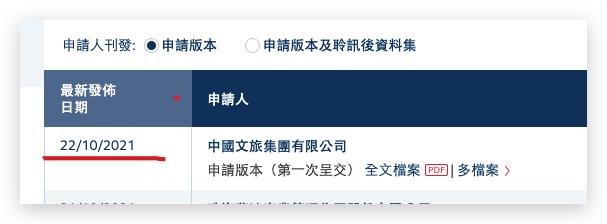 毛利率下行!奥园旗下中国文旅第四次冲击港交所IPO